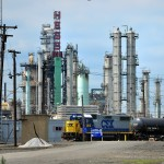 Conrail Shared Assets Operations in shadows of oil refinery
