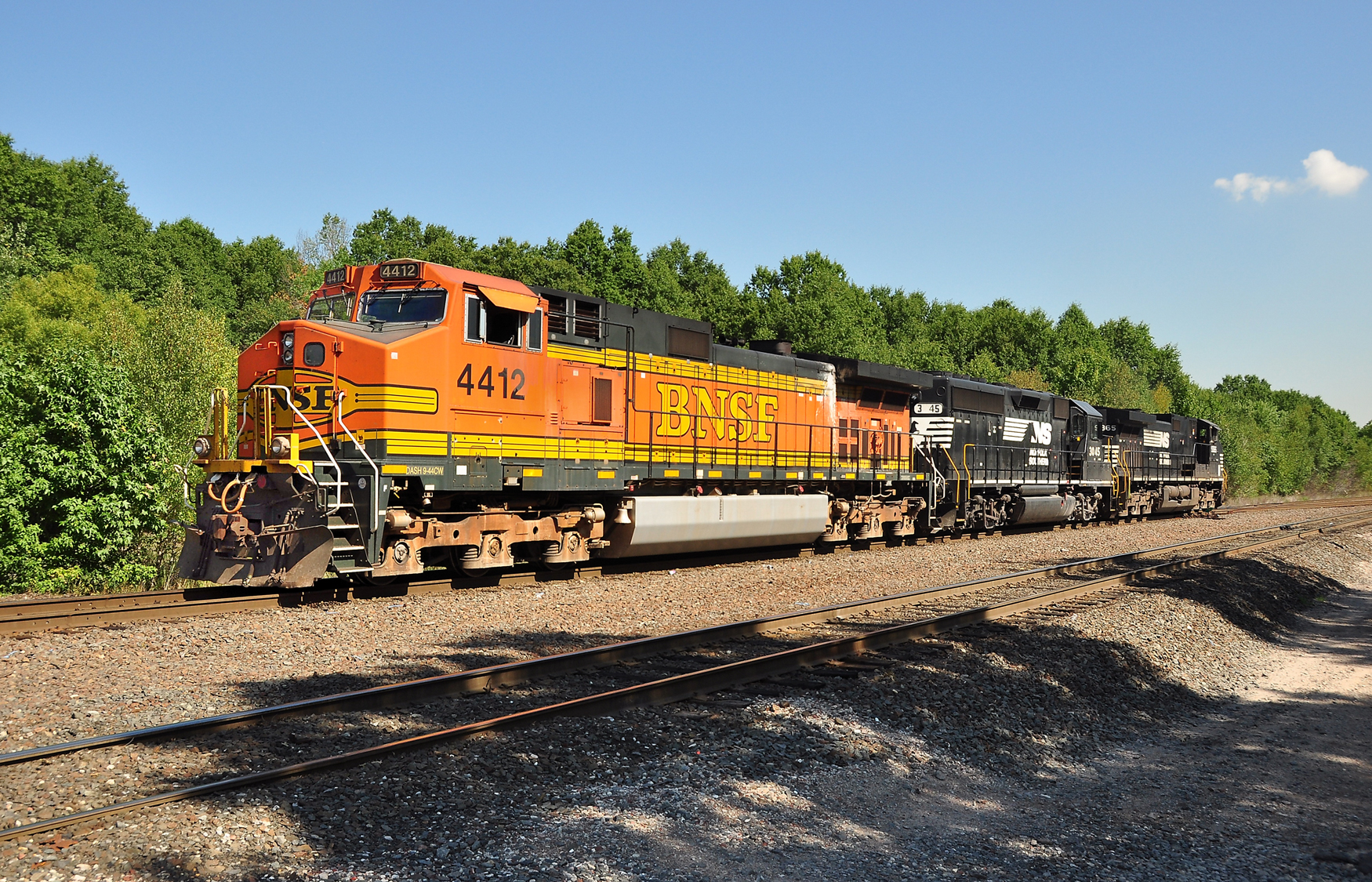 Conrail Chemical Coast Secondary hosts others' locomotives