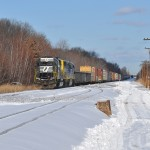 Veteran power leads transfer train in Port Reading
