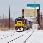 Frigid temperatures no problem for Conrail heading south