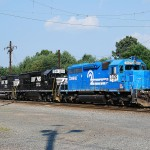 Lineage recalled of three mainline veteran trains