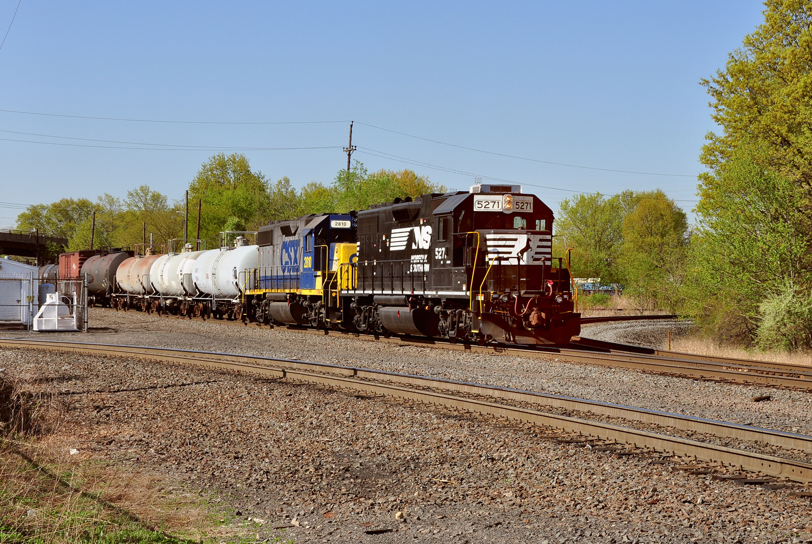 Classic EMD locomotives continue to work hard into their golden years