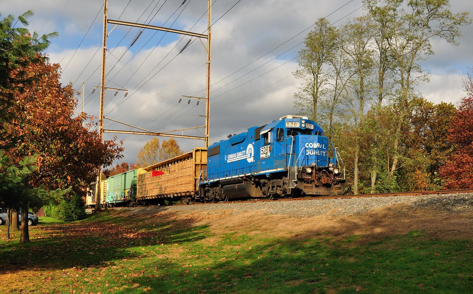Conrail Southern Secondary Shrewsbury NJ NS5281 Conrail Quality