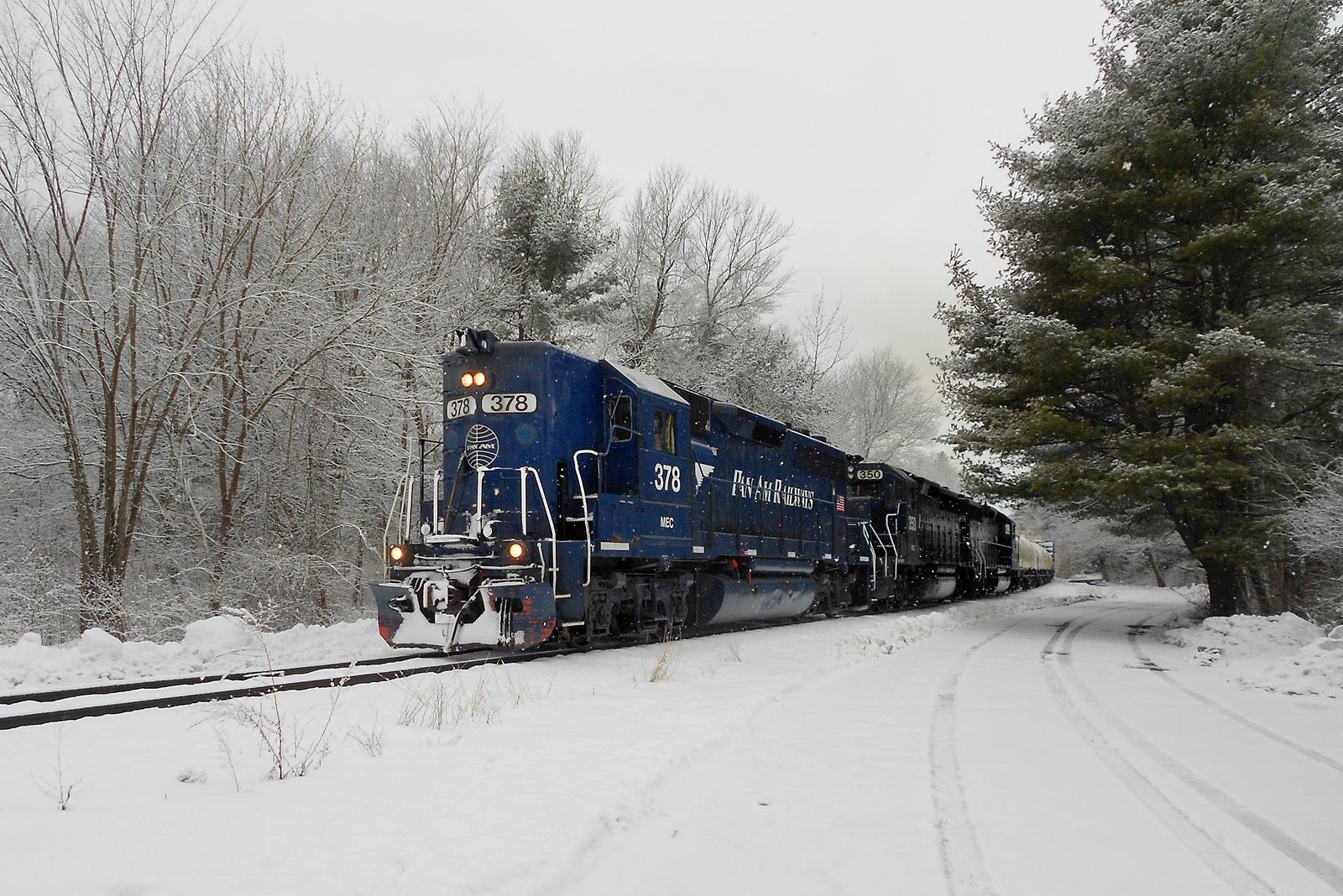 locomotive in winter part two essay